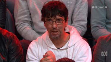 Duncan Storrar on the Q&A panel.