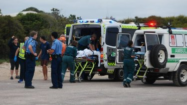 A teenager has been attacked by a shark in Esperance on Monday.