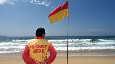 Only 4 per cent of Australia's 11,000 beaches have flags.
