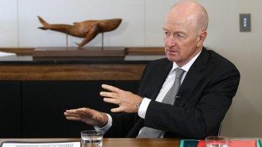 Reserve Bank of Australia governor Glenn Stevens.