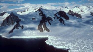 East Antarctica.