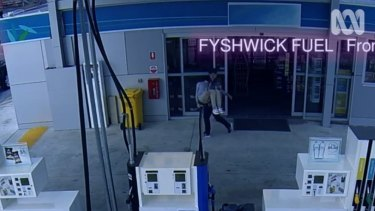 Furtive faux CCTV footage suggests dirty deeds are afoot at the Fyshwick servo.