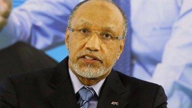Former Asian Football Confederation (AFC) President Mohamed Bin Hammam.