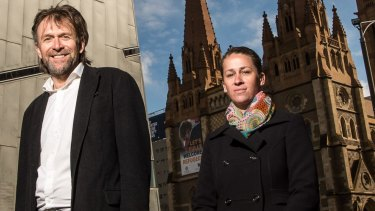 Nic Frances Gilley and Brooke Wandin, who ran on the An Indigenous Voice on Council ticket in last October's election.