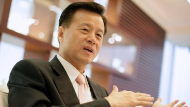 Billionaire Hui Wing Mau keeps a low profile, but the chairman of Hong Kong-listed Shimao Property Holdings is named in the Panama Papers.