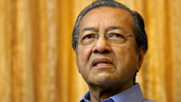 Former Malaysian prime minister Mahathir Mohamad has published an unprecedented attack on the country's current leader.