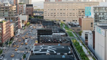 New York's High Line park designed by James Corner and DSR.