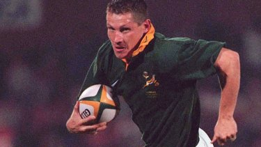 World Cup winner James Small.