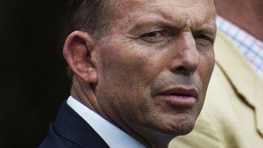"""""""Millions of Australians are feeling very, very upset"""": Prime Minister Tony Abbott."""