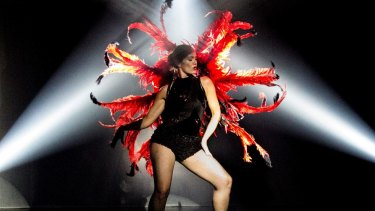 Liz Lea's new dance show RED is a multi-media experience.