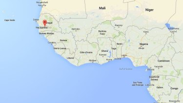 Gambia, population 1.8 million, is surrounded by Senegal on three sides.