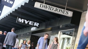 David Jones, which had been performing well over the past couple of years, has hit a speed bump.