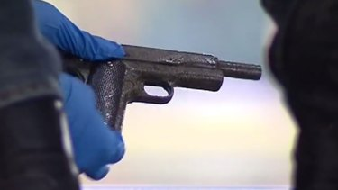 Police are investigating to determine if the gun may have been used in any recent crimes.