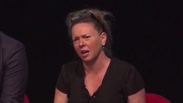 Actors Equity director Zoe Angus.