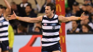 Patrick Dangerfield was one of Chris Scott's masterstrokes against the Swans.