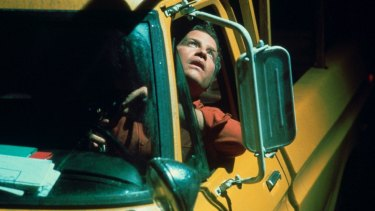 Richard Dreyfuss in Close Encounters Of The Third Kind.