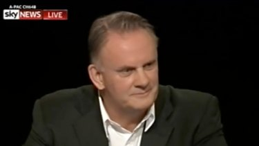 Controversial comments: Mark Latham.
