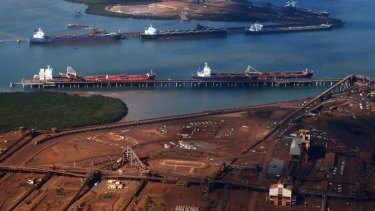 The prolonged industrial dispute at Port Hedland has resulted in a new tugboat contract at Port Hedland. Photo: Reuters