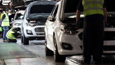 Ford Australia's Broadmeadows plant has stopped running.
