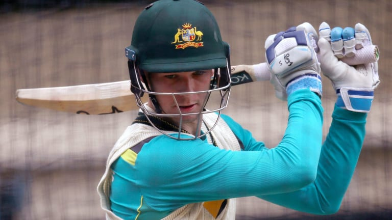 Australia's Peter Handscomb says his Test future is with the bat.