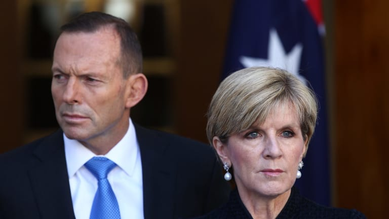 In the poll just 32.6 per cent of voters nominated Malcolm Turnbull as better PM - compared to Tony Abbott's 33.7 per cent and Julie Bishop's 33.8 per cent.