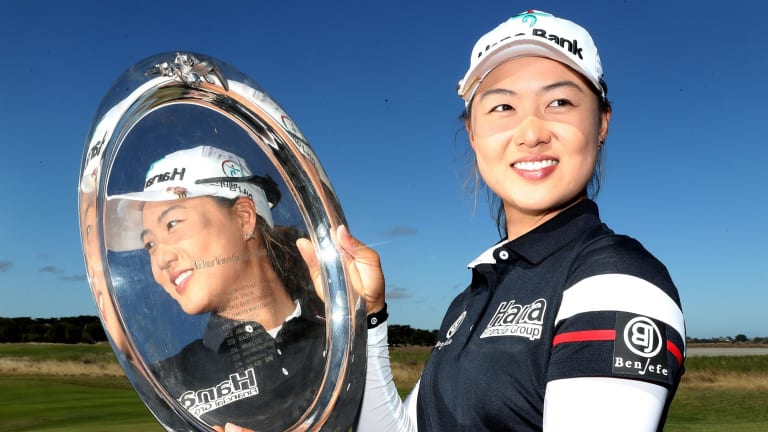 Minjee Lee took out the Vic Open on Sunday.