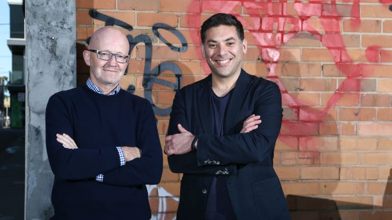 Rampersand: Founders and managing partners Jim Cassidy and Paul Naphtali.