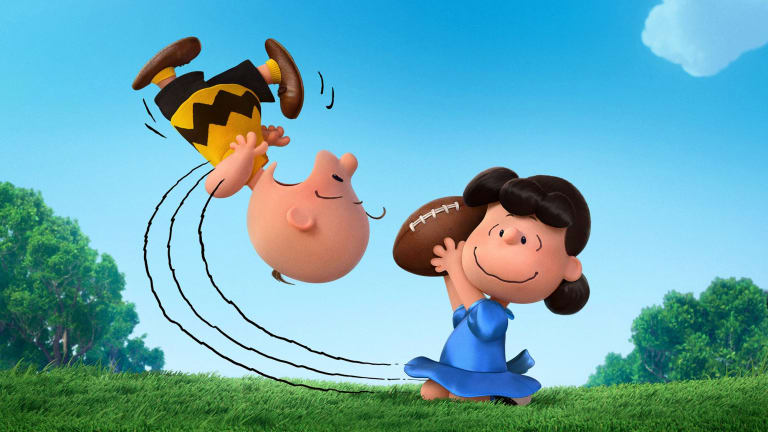 empty mailbox charlie brown. Charlie Brown And Lucy In \u003ci\u003eSnoopy Brown: The Peanuts Movie Empty Mailbox