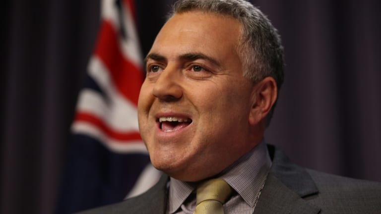Treasurer Joe Hockey: RBA and the federal government are in lock-step.