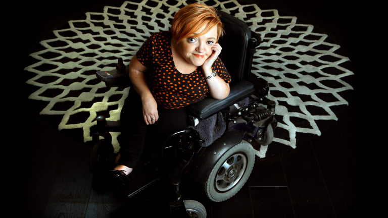 Comedian Stella Young died on Saturday.