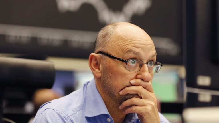 European and emerging-market equities bore the brunt of selling. In Frankfurt, the DAX fell 1.9 per cent.