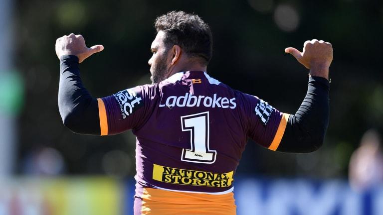 Loyal: Sam Thaiday will never play against Brisbane.