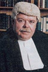 Judge Garry Neilson in 2003.