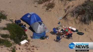 Police were called to Coorong National Park near Salt Creek following reports two foreign backpackers had allegedly been abducted.