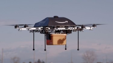 Amazon is investigating whether it can use drones to deliver goods to customers