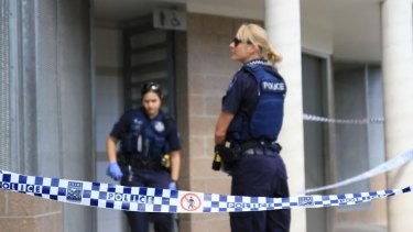 Police believe the man died in the Kangaroo Point toilet block of natural circumstances.