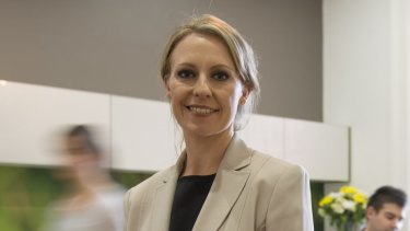 Bellamy's chief executive Laura McBain: The company's shares have plunged since revealing problems in China.