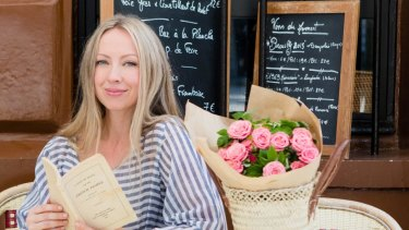 Beauty journalist and Francophile: Katrina Lawrence.