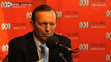 Tony Abbott's wink: So much callow unthought in a single gesture.