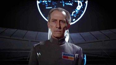 A CGI Peter Cushing in