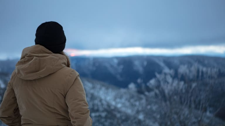 Mount Hotham is expecting snowfall this weekend.