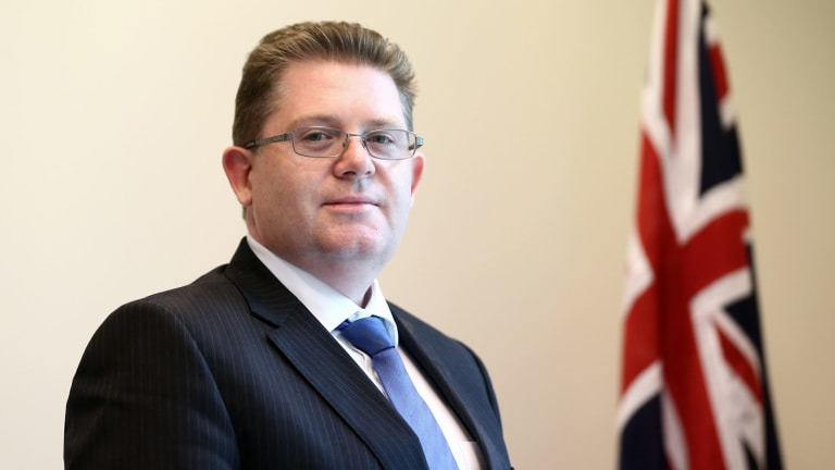 Minister for Vocational Education and Skills Scott Ryan.