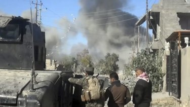 Iraqi forces have retaken large parts of Ramadi from Islamic State.