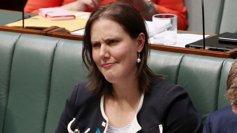 Revenue and Financial Services Minister Kelly O'Dwyer.