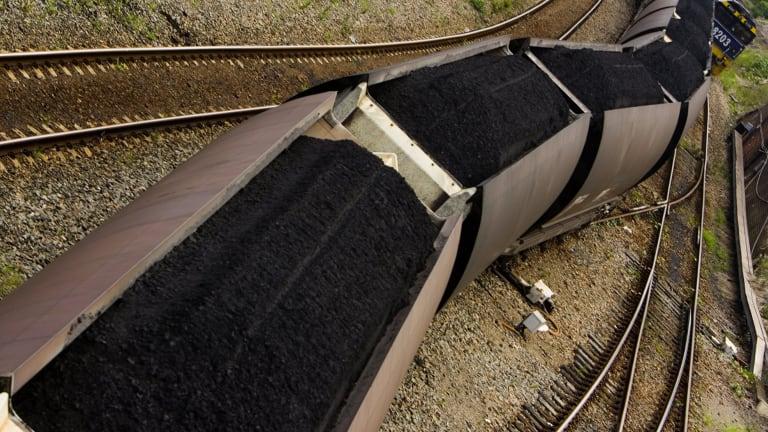 Adani's giant Galilee Basin coal project is looking marginal.