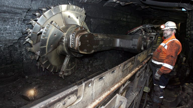 The Dendrobium underground coal mine in the Special Areas near the Illawarra.
