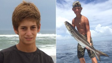 Perry Cohen, left, and Austin Stephanos. Cohen and Stephanos were last seen on July 24, 2015, in Jupiter, Florida.