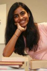 St Paul's Grammar School student Rashmi Shingde achieved a perfect International Baccalaureate Diploma score of 45 last year.