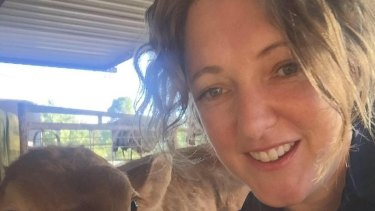 Sarah Hawthorn is fighting for her life after contracting influenza.