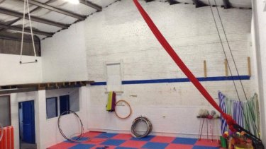 The circus training school located west of Sydney.